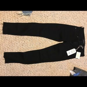 NWT Lucky Brand Black Skinny Jeans size 25